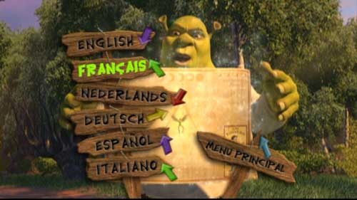 Shrek Dvd Menu Images Free Download